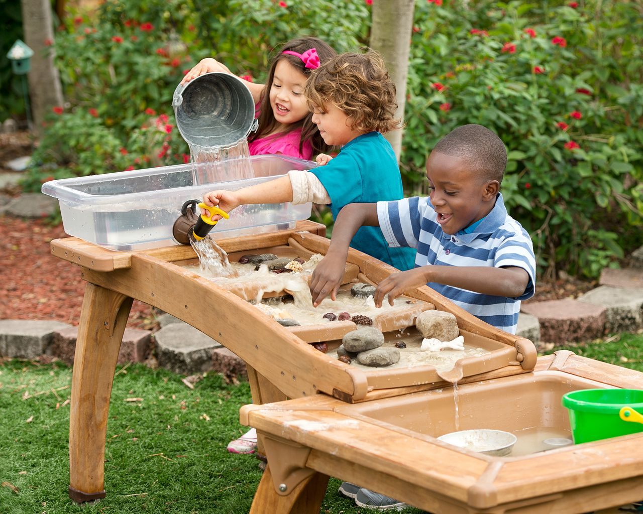 Upcoming Events Kids In The Courtyard Setting The Table