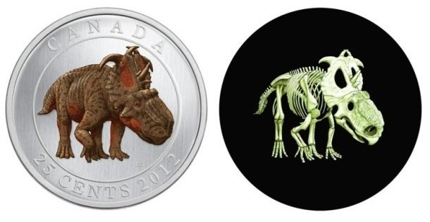 Canada issues glow-in-the-dark dinosaur quarter | The Sideshow – Yahoo! News