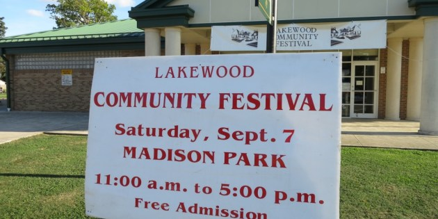 2013 Lakewood Community Festival at Madison Park Photos – Video