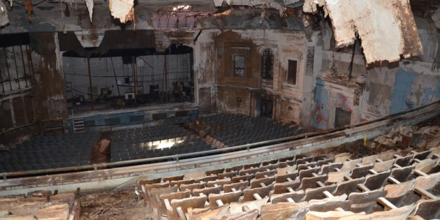 Photos: The Hilliard Theater in Lakewood is in Terrible Shape