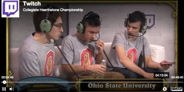 North American Collegiate Hearthstone Champs from Lakewood