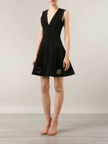 4-Jennifer-Hudsons-We-Day-Illinois-Cushnie-et-Ochs-Grommet-Eyelet-Embellished-Flare-Black-Dress