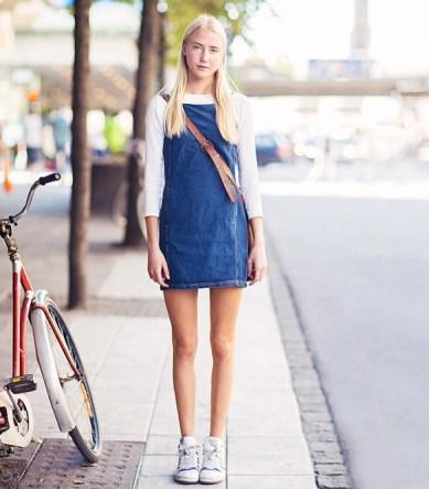 denim-dress-sneakers-via-stockholm-street-style