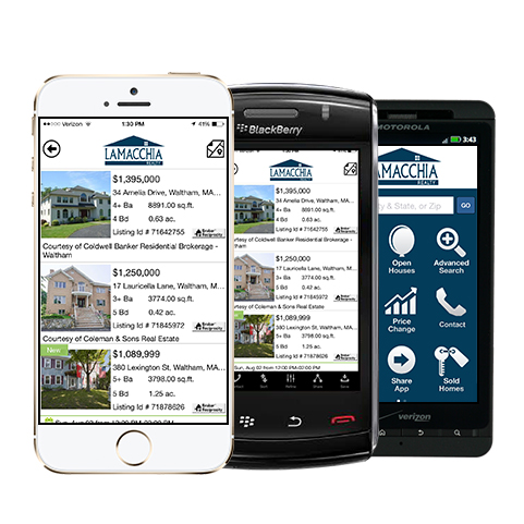 How to Use the Lamacchia Realty Real Estate App