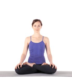 Padmasama - la position du Lotus est idéale pour la méditation