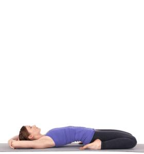 position Supta Virasana