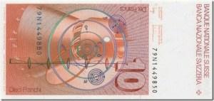Nibiru y los annunakis en los billetes suizos