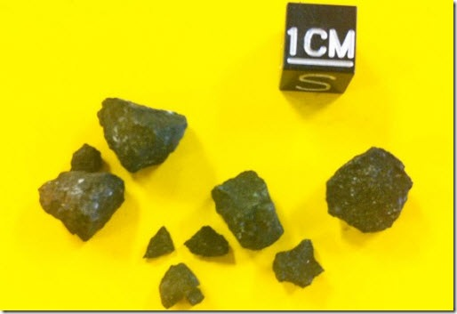 meteorito condrita