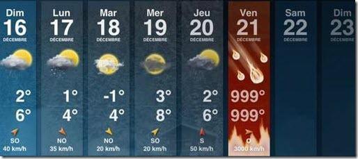 prevision meteorologica