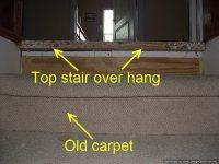 Installing Laminate on Top Stair To Carpet