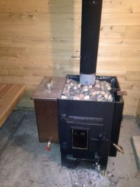 Kuuma Wood Sauna Stoves.Kuuma Large Wood Burning Sauna ...