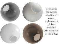 Replacement Globes For Outdoor Lighting | Lighting Ideas