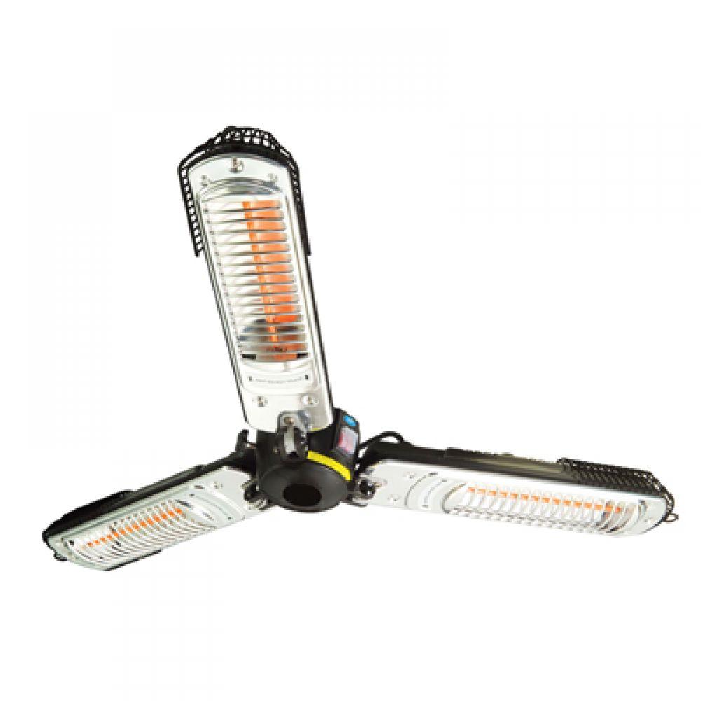 2000 Watt Outdoor Infrared Parasol Patio Heater