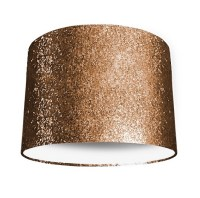 Copper Glitter Lampshade - Lampshade Parade