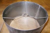 Custom Metal Drum Lamp Shade Uno Fitter