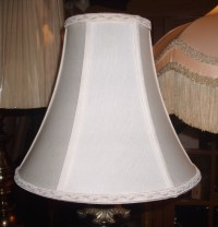 QUOIZEL LAMPSHADE LINER REPLACED, REPAIRED, RESTORED
