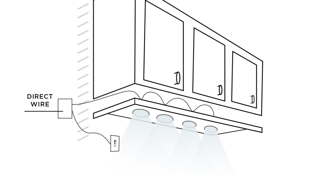 hard wiring under cabinet lighting