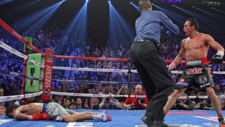 Manny Pacquiao Knocked Out By Juan Manuel Marquez