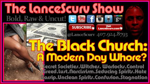 Black Church Whore Graphic