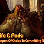The Knife & Fork: Societies Weapon Of Choice To Committing Mass Suicide!