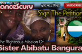 Sister Abibatu Bangura: The Angel From Sierra Leone! – The LanceScurv Show