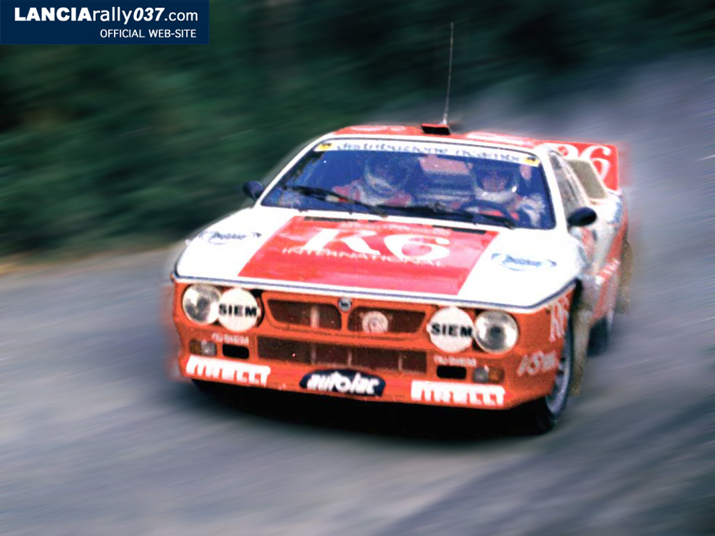 Race Car Wallpapers High Resolution Lancia Rally 037 Wallpapers