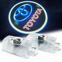 Bailongju Toyota Easy Installation Car Door LED Logo Projector Ghost Shadow Lights 2-pc Set