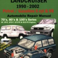 Toyota Landcruiser 1990-2005 Auto Repair Manual: Petrol/Gasoline 6 cyl & V8 (Max Ellery's Vehicle Repair Manuals)