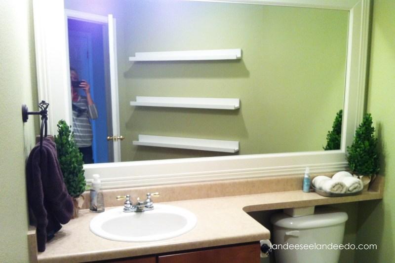 Large Of Floating Shelf For Bathroom