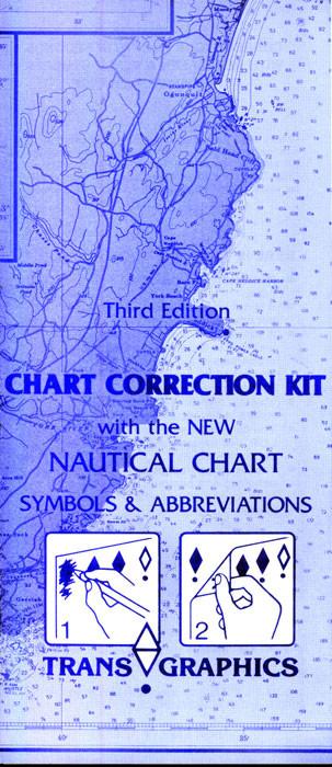 Chart Correction Kit, 3rd Ed