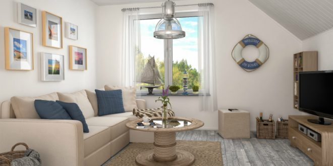 Wohnzimmer Im Shabby Look  Maritim Einrichten Kreutz Landhaus Magazin