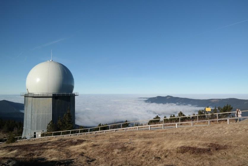 Blick vom Gipfel (Großer Arber)
