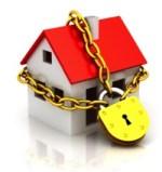 Locked house