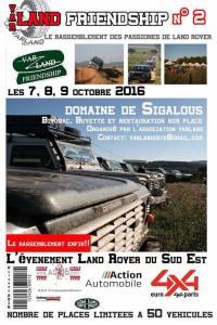 Var Land Friendship 2016 @ Domaine des Sigalous