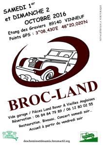 3° Broc'land à Vinneuf @ Vinneuf | Vinneuf | Bourgogne | France