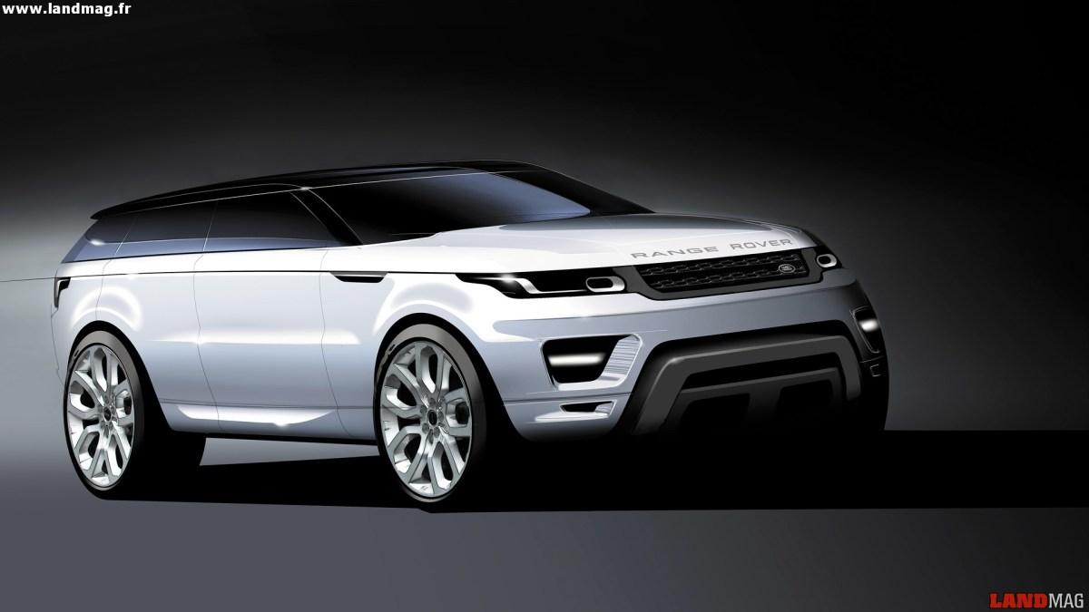 exclusif le futur range rover gt un 4x4 coup selon land rover. Black Bedroom Furniture Sets. Home Design Ideas