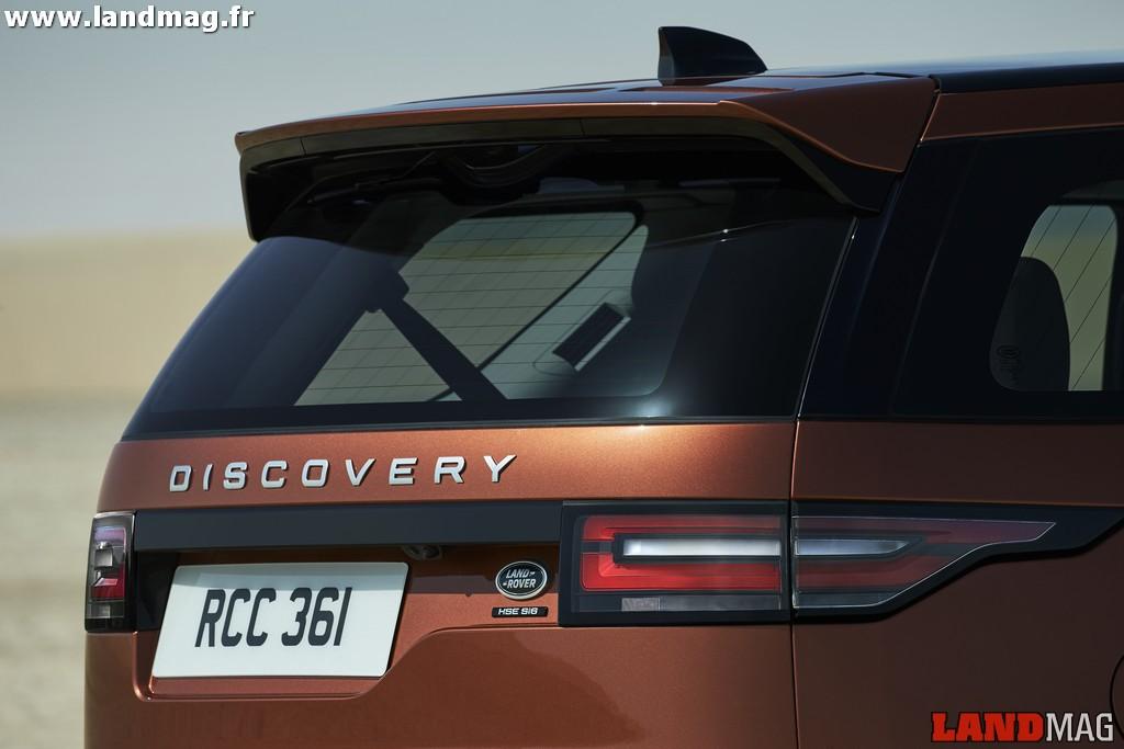 Nouveau Land Rover Discovery : les prix !