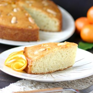 Sweet oranges and fruity olive oil lend a fragrant aroma and a moist crumb to this Italian-inspired recipe for Orange Almond Olive Oil cake.