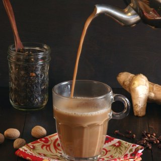 This recipe for Vegan Masala Chai features bold black tea and seven aromatic spices for a robust chai experience.