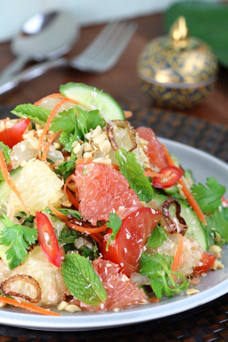 Thai Grapefruit Salad