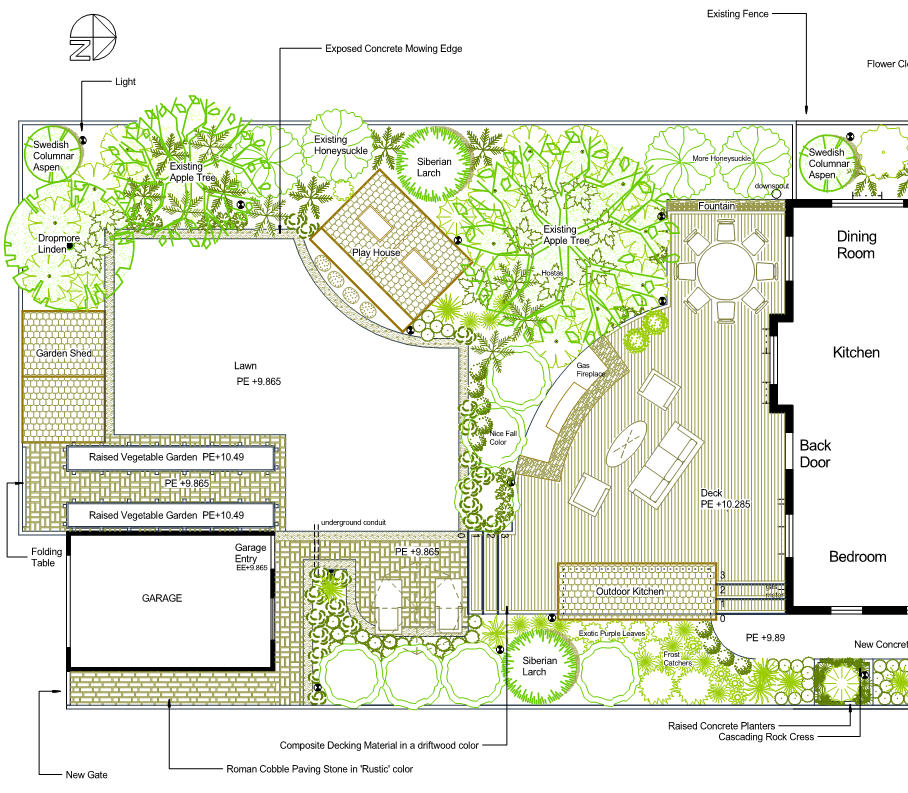 Garden Design School school garden design drawing