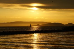 Balaton sunset