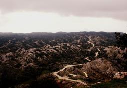 Road on Pantokrator