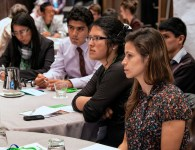 Youth Champions at 2014 Global Landscapes Forum's youth session