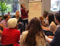 Youth teams define the solutions to their landscapes challenges