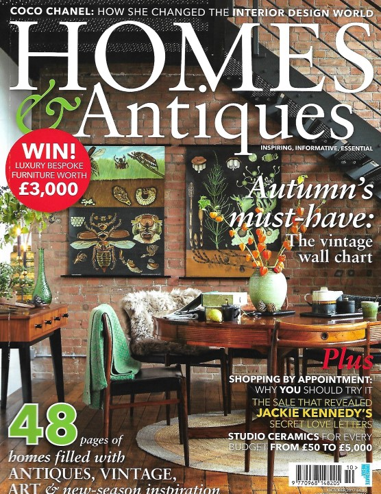 Homes  Antiques September 2017 L  V Art and Design