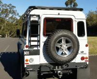 Land Rover Defender 90 - Hannibal Safari Roof Racks