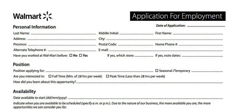 Walmart Application 2019 Careers, Job Requirements  Interview Tips