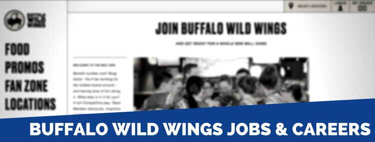 buffalo wild wings job requirements