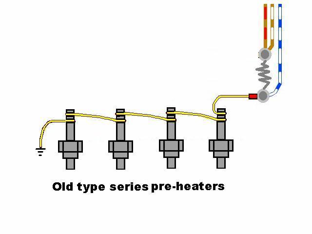 wiring in series heaters